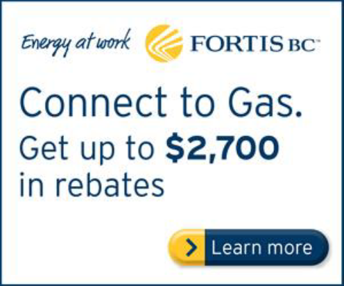 Gas rebate tile